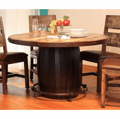 Antique Barrel Table