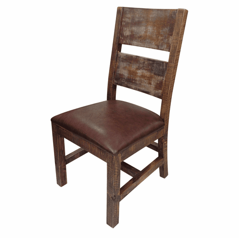 Antique Multicolor Dining Chair