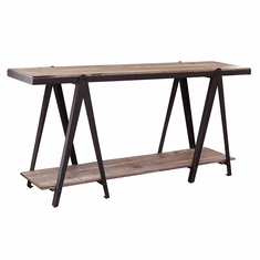 Artisan Artifact Console Table