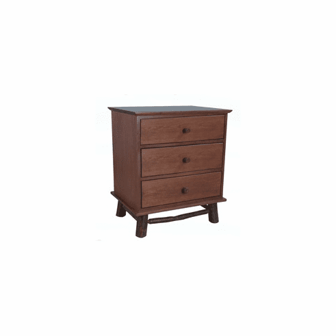 Calistoga Three-Drawer Nightstand