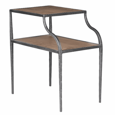 Classic Home Rustic Everett Side Table