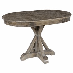 Classic Home Rustic Maxwell Oval Dining Table