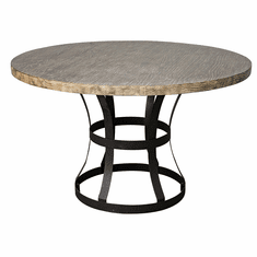 Classic Home Rustic Tribeca Round Dining Table