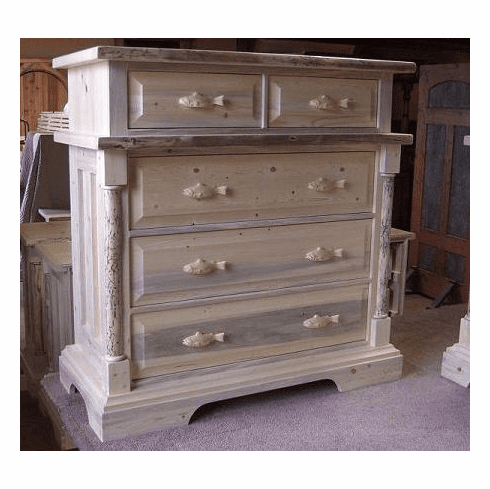 Deception Creek Stacked Five Drawer Chest
