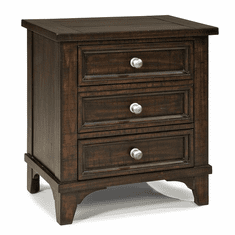 Hayden 3-Drawer Nightstand