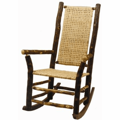 High Back Outdoor Rocker