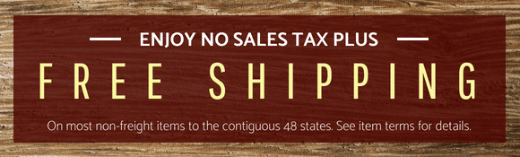 On most non-freight items and orders to the contiguous 48 states. See item terms for details.