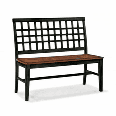 Intercon Arlington Slat-Back Bench