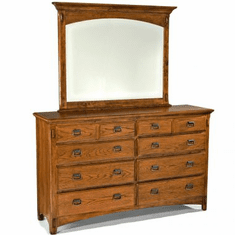 Intercon Pasadena Revival Eight-Drawer Dresser