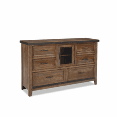Intercon Taos Six-Drawer Dresser with Door