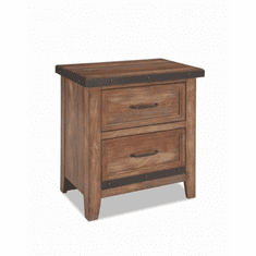 Intercon Taos Two-Drawer Nightstand