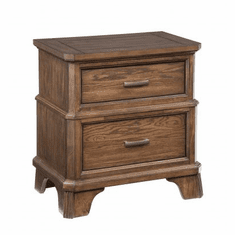 Intercon Telluride Two-Drawer Nightstand