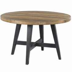 Intercon Urban Rustic Round Dining Table