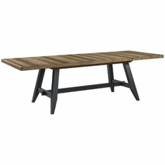 Intercon Urban Rustic Trestle Dining Table