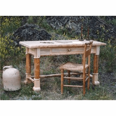 Jim Creek Writing Desk with Drawer