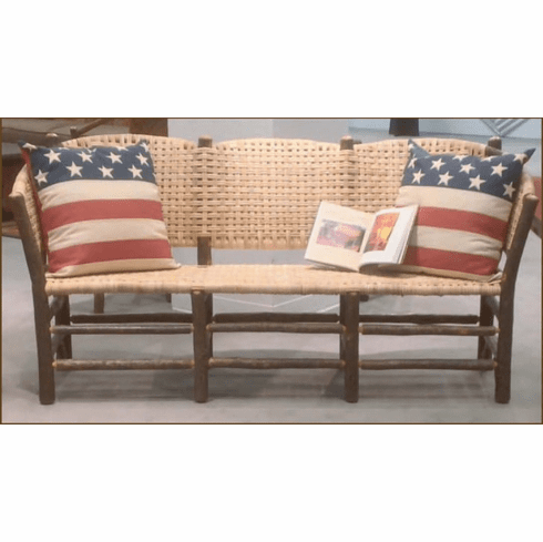 No. 120 Vintage Three-Seat Settee