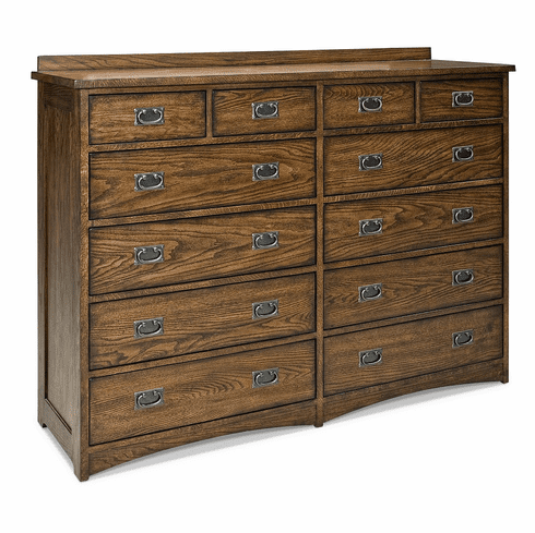 Oak Park 12-Drawer Dresser