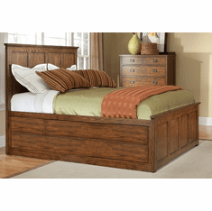 Oak Park Panel Bed with Storage Options