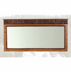 Old Faithful Landscape Mirror