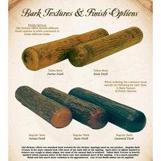 Old Hickory Bark Textures