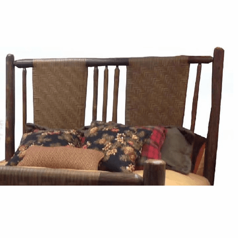Old Hickory Blue Mountain Lake Bed Headboard