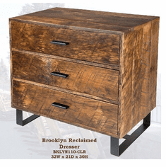 Old Hickory Brooklyn Reclaimed 3-Drawer Dresser
