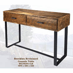 Old Hickory Brooklyn Reclaimed Console Table