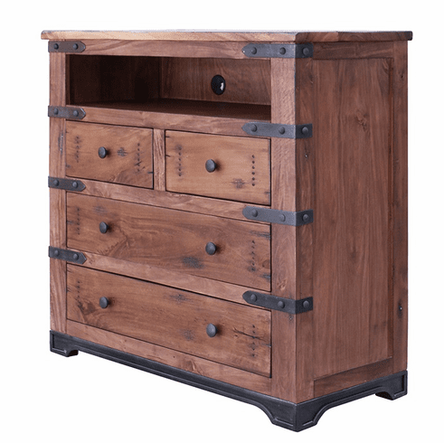 new arrivals d9e63 62d7e Parota 4-Drawer Media Chest