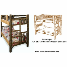 Phoenix Twin Bunk Bed