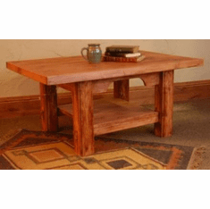 Rustic Alder Coffee Table