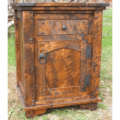 Rustic Autumn Night Stand