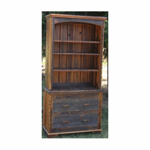 Rustic Country 2-Piece Bookcase