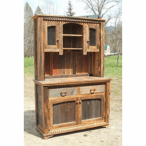 Wondrous Rustic Country Buffet Hutch Home Remodeling Inspirations Basidirectenergyitoicom