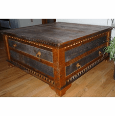 Rustic Country Conference Coffee Table