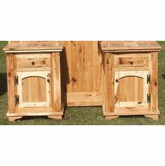 Rustic Hickory Night Stand
