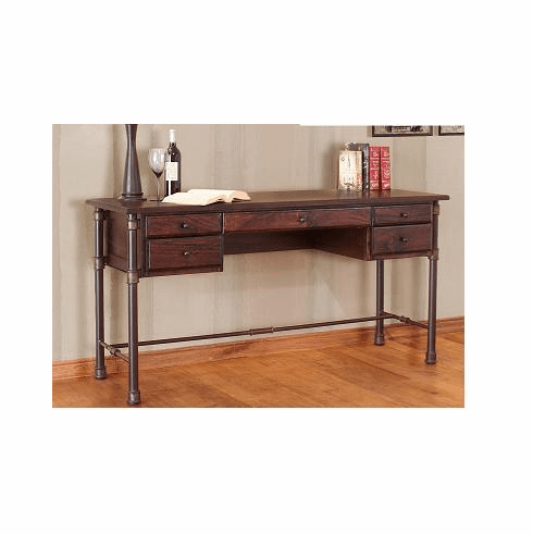 Rustic Mango Wood Home Office Desk