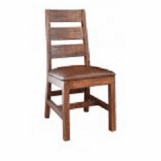 Rustic Monte Carlo Ladder Back Chair