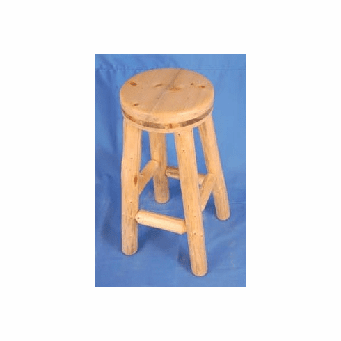 Solid Wood Round Stool