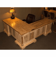 "Solo Joe Executive Desk with ""L"" shaped Return"