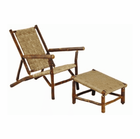 Sun River Deck Chair and Ottoman