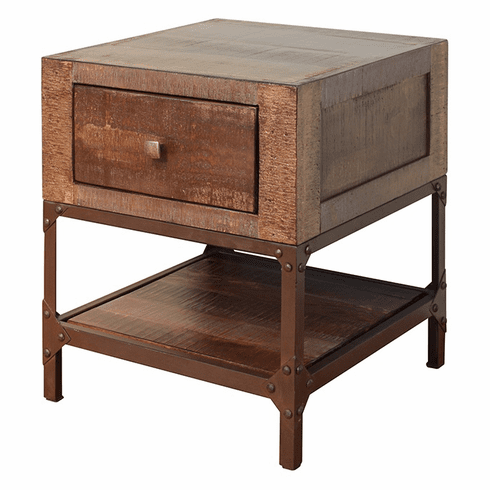 Urban Gold End Table