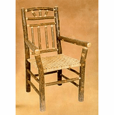 Wagon Wheel Arm Chair