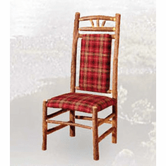 Wagon Wheel High Back Dining Chair