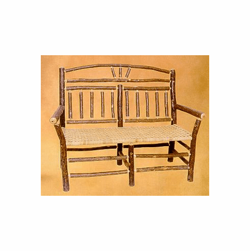 Wagon Wheel Settee