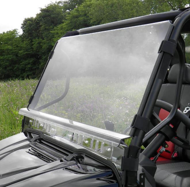 3 Star Two Piece Front Windshield - Mahindra mPact XTV