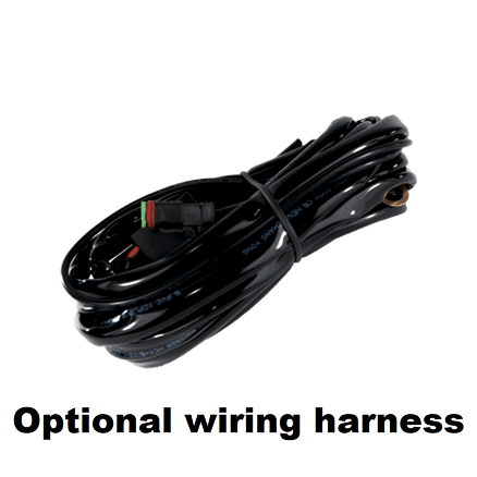 Double Led Light Bar Wiring Harness on