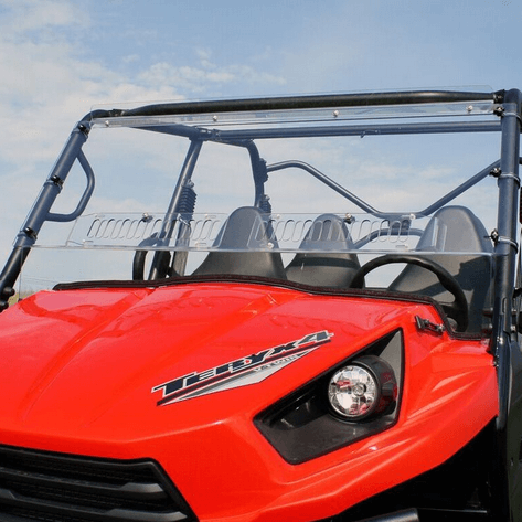 kawasaki teryx 750 vented front windshield side by side. Black Bedroom Furniture Sets. Home Design Ideas