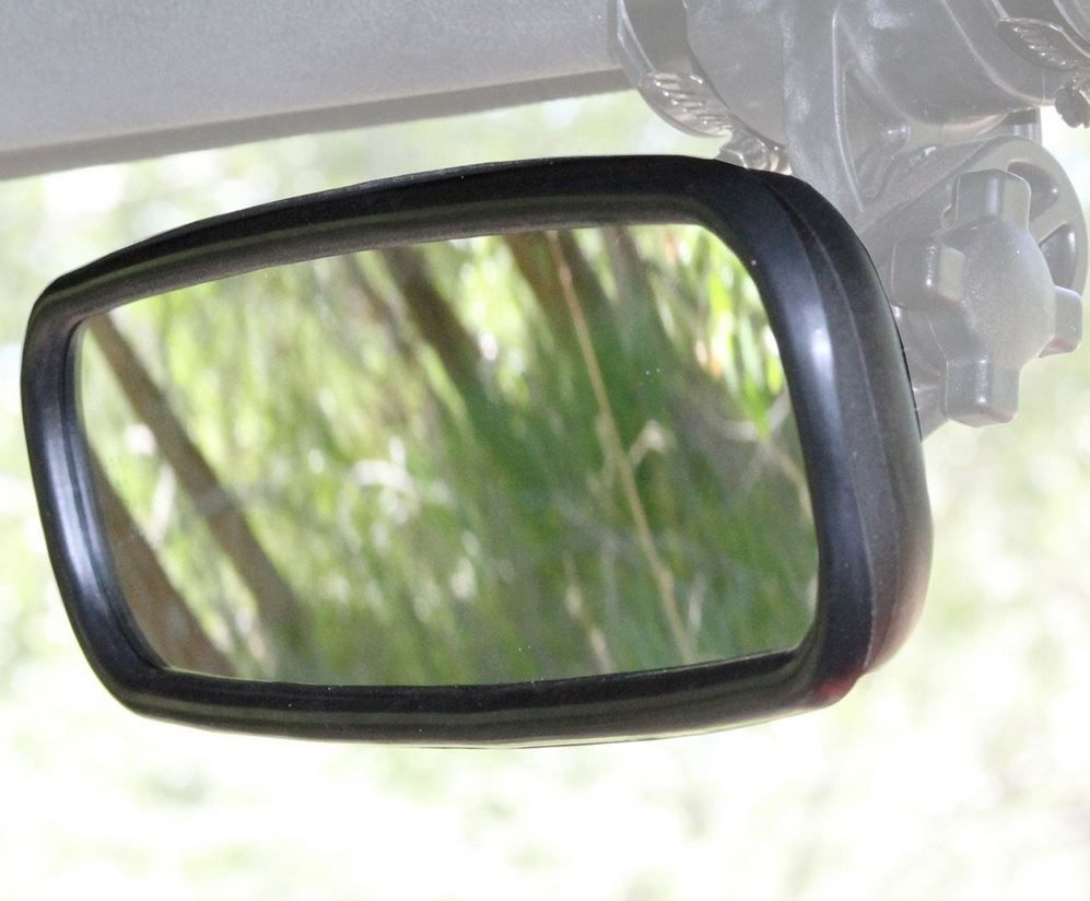 "Yamaha Rhino Bad Dawg 1.75/""  Convex Side Rear View Mirror"