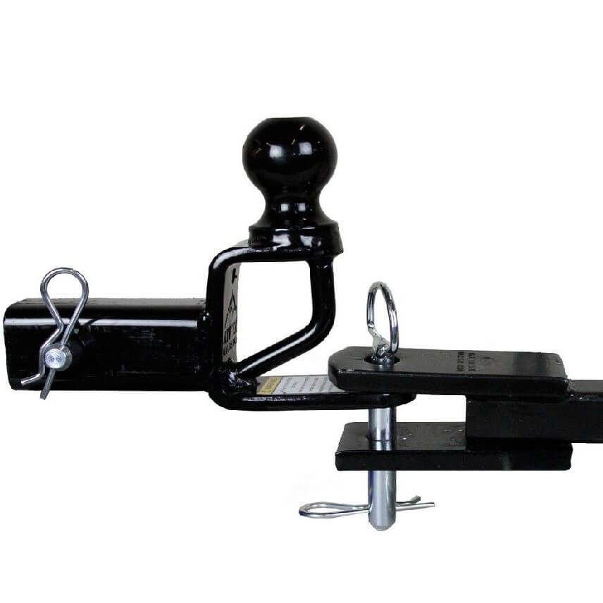 """CURT Bolt-On ATV Tongue Adapter with 2"""" Receiver-45006 ...  