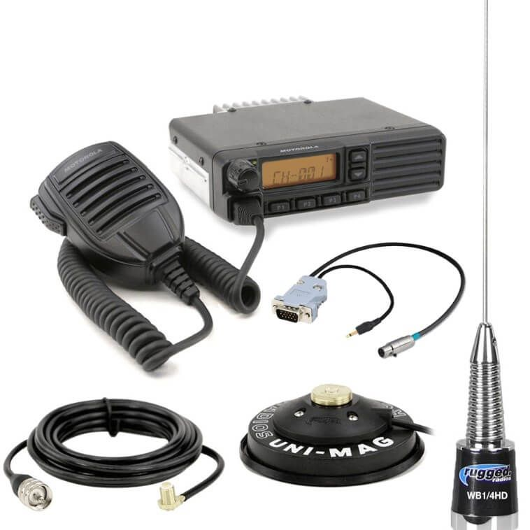 A Mobile Radio Wiring on